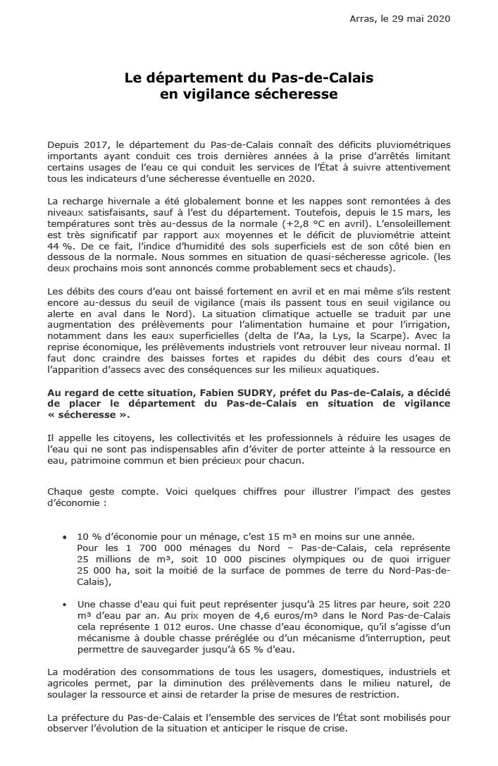CommuniquePresse-Secheresse2020-1