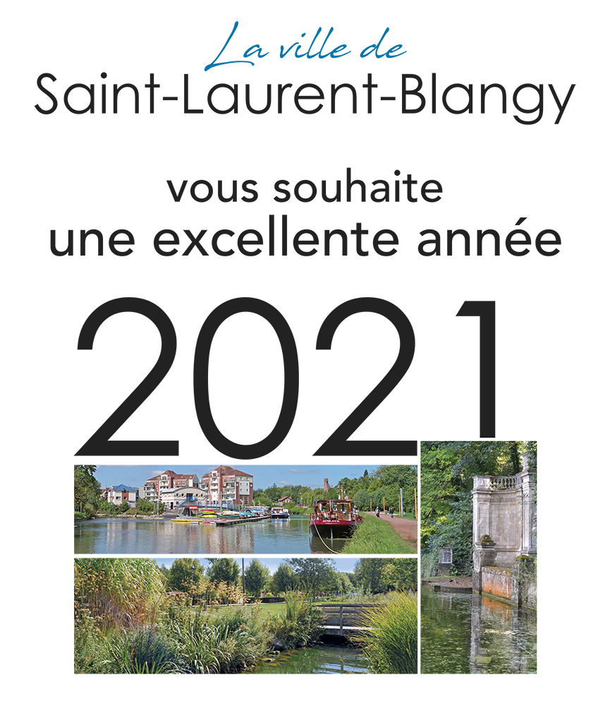 affiche voeux 2021