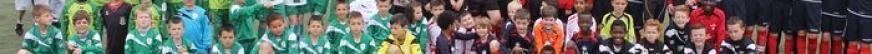 Les jeunes footballeurs de Chaulnes à Saint-Laurent-Blangy